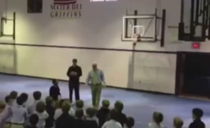 First-Grader Drains Free Throw, Earns Day Off For Entire Class
