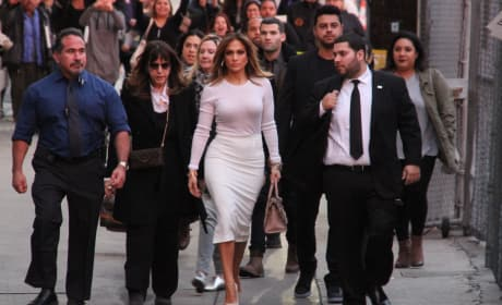 JLo, The Entire Beckham Crew & More: Star Sightings 1.05.2016