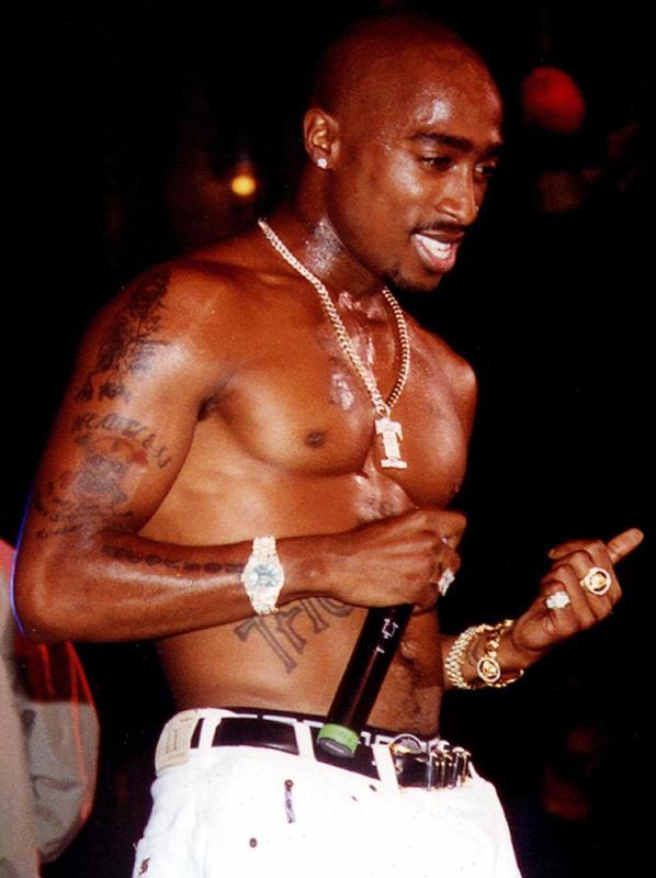 Tupac Shirtless