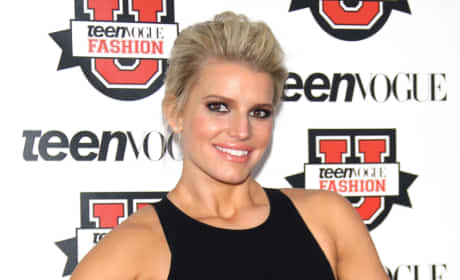 Jessica Simpson at Teen Vogue