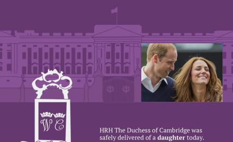 Royal Baby Twitter Announcement