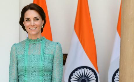 Kate Middleton Meets India's Prime Minister
