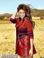 Nina Dobrev in Seventeen
