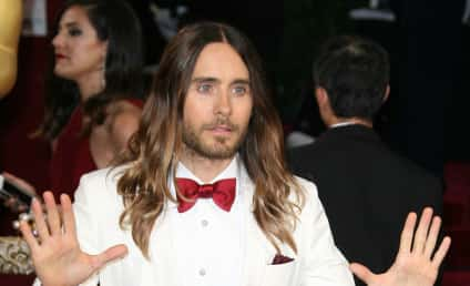 """Jared Leto: Jennifer Lawrence Falling at Oscars """"A Bit of an Act"""" ... Maybe?"""