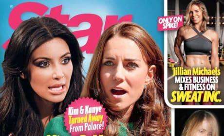 Kim Kardashian, Kate Middleton Feud