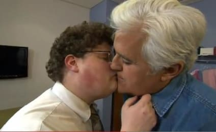 Bar Refaeli Kiss: Recreated for Jay Leno?