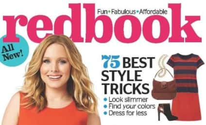 Kristen Bell Covers Redbook, Refuses to Play Baby Weight Loss Game