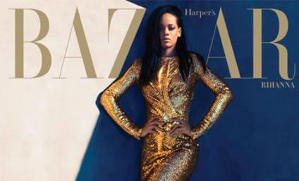 Rihanna Harper's Bazaar Cover: Snake-Like!