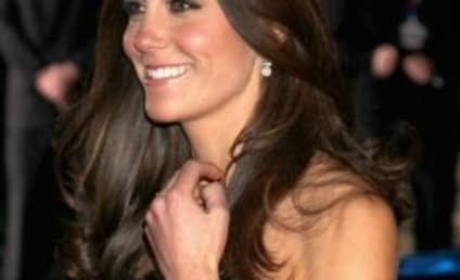 Kate Middleton Dazzles in Alexander McQueen Dress, Honors Heroes