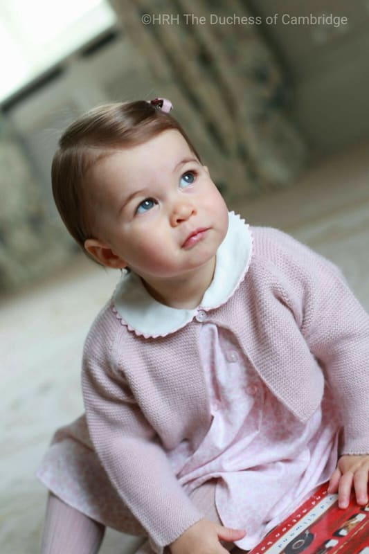 Princess charlotte pretty in pink