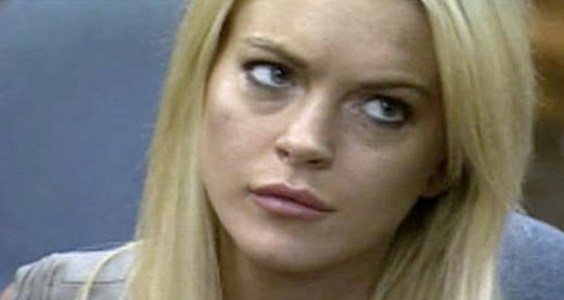 Lohan in the Courtroom