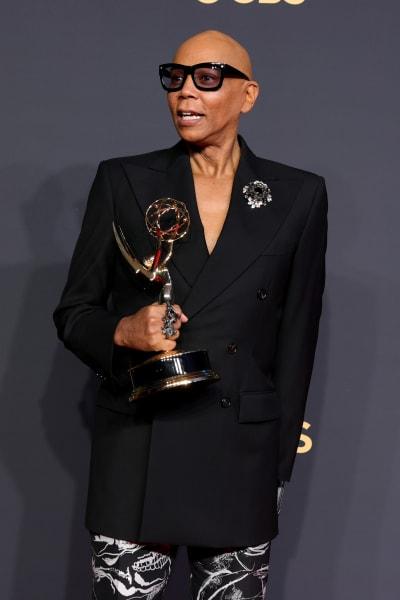 RuPaul Attends 2021 Emmy Awards