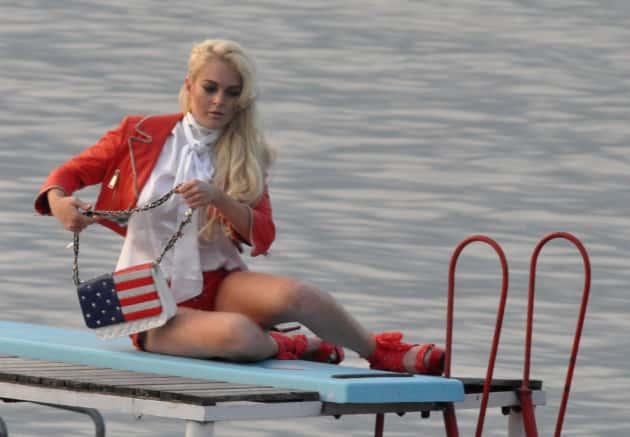 Lindsay Lohan For Philipp Plein