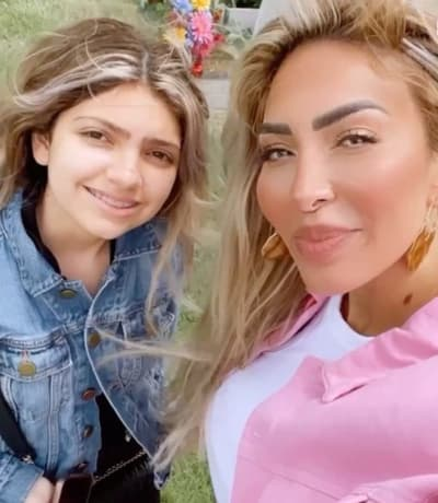 Farrah and Sophia on Mother's Day