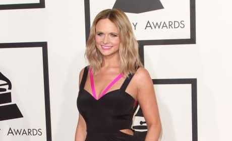 Miranda Lambert at the 2015 Grammys