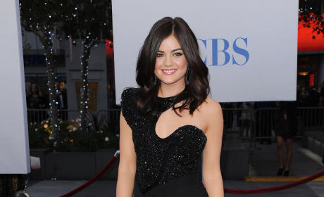 Lucy Hale at the People's Choice Awards