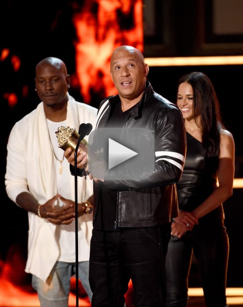 Vin Diesel Honors Paul Walker