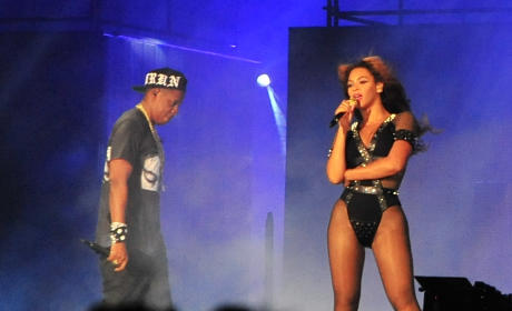 Queen Bey and Jay Z