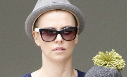 Charlize Theron Shaves Her Head!