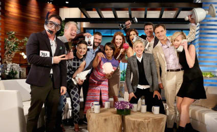 Scandal Cast Poses for the Ultimate Selfie, Preps Fans for Season 4 Premiere