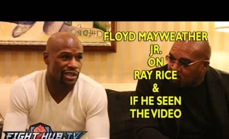 Floyd Mayweather Speaks on Ray Rice