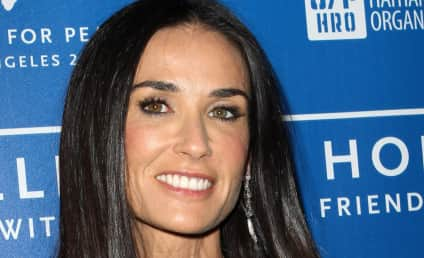 """Demi Moore """"Embarrassed"""" by Hospitalization, Public Breakdown, Source Says"""
