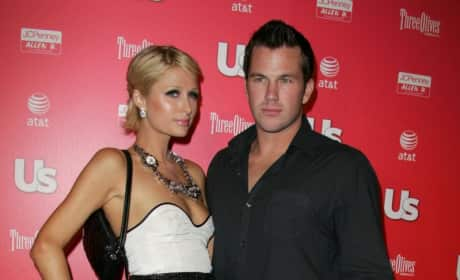 Doug Reinhardt with Paris Hilton