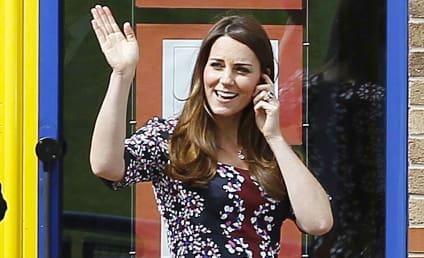 Kate Middleton Baby Bump Photos: Bigger, Cuter Than Ever!