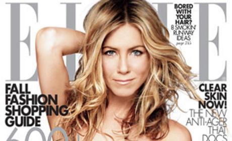 Jen Aniston: Elle Cover