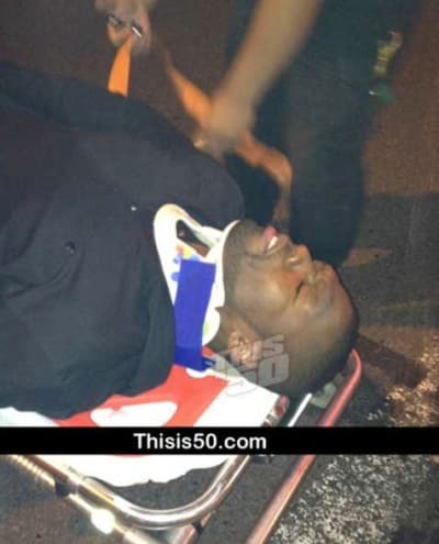 50 Cent Crash Photo