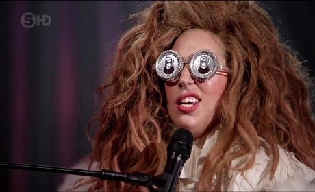 Lady Gaga on TV