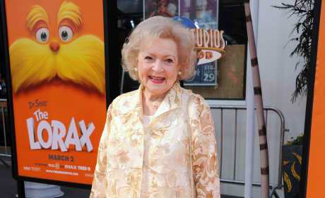 Betty White at the Lorax Premiere