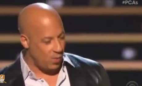 Vin Diesel Pays Touching Tribute to Paul Walker at People's Choice Awards