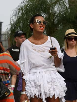 Solange Knowles Buzz Cut