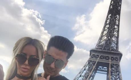 Pauly D Aubrey O'Day Eiffel Tower