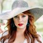 Kathryn Dennis in a Fancy Hat