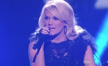 """Carrie Underwood AMA Performance: """"Two Black Cadillacs,"""" One Major Honor"""