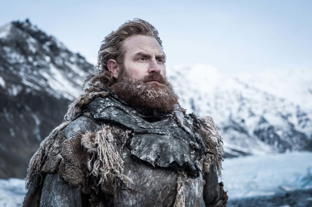Tormund is ready for battle