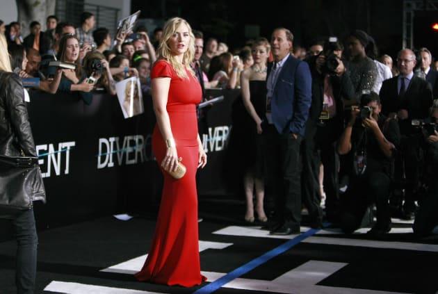 Kate Winslet on Divergent Red Carpet