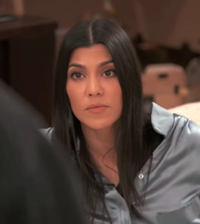 Kourtney Kardashian Means Business
