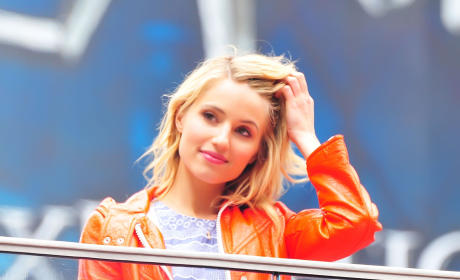 Dianna Agron in NYC