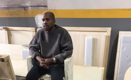 Kanye West as a Blonde