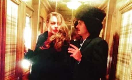 Lindsay Lohan and Egor Tarabazov