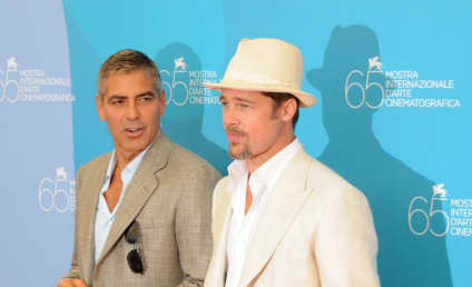 """Brad Pitt Disses George Clooney's Marriage: """"We Did It For the RIGHT Reasons!"""""""