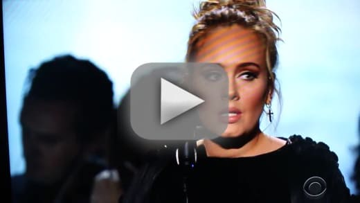 Adele george michael tribute watch her start stop swear and slay