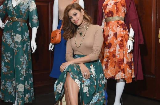 Eva Mendes New York Company Shoot