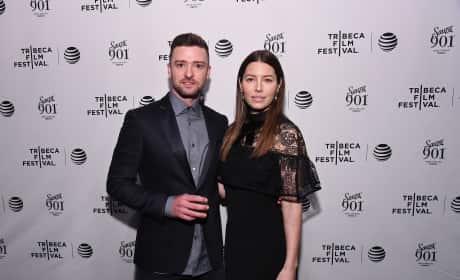 Justin Timberlake and Jessica Biel: 'The Devil And The Deep Blue Sea' Tribeca Film Festival Premiere