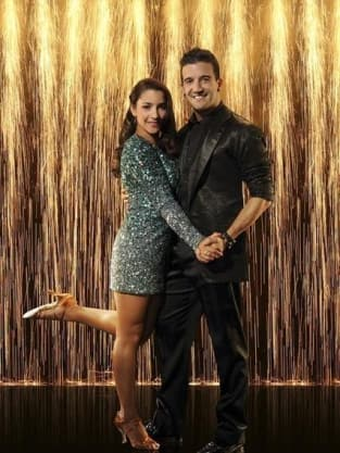 Aly Raisman and Mark Ballas