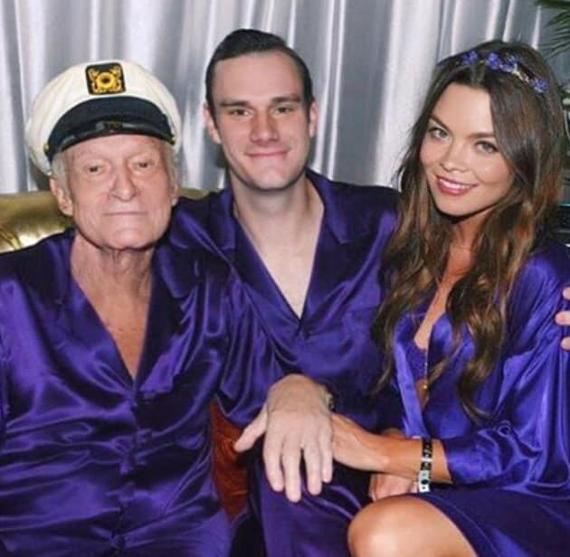 Tamera Mowry S Niece Laid To Rest After Being Killed In: Hugh Hefner In A Robe