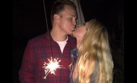 Heidi Montag and Spencer Pratt Kiss